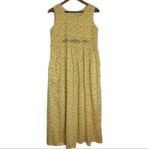 April Cornell Cottagecore Floral Dress Small